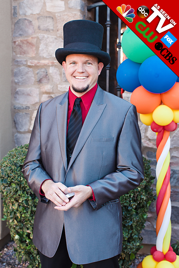 John Fitzsimmons - Arizona's Premiere Birthday Party Magician, AS SEEN ON TV!